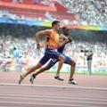 Jeux Paralympiques Pekin 2008   Gautier Tresor Makunda, guide : Gautier Simounet